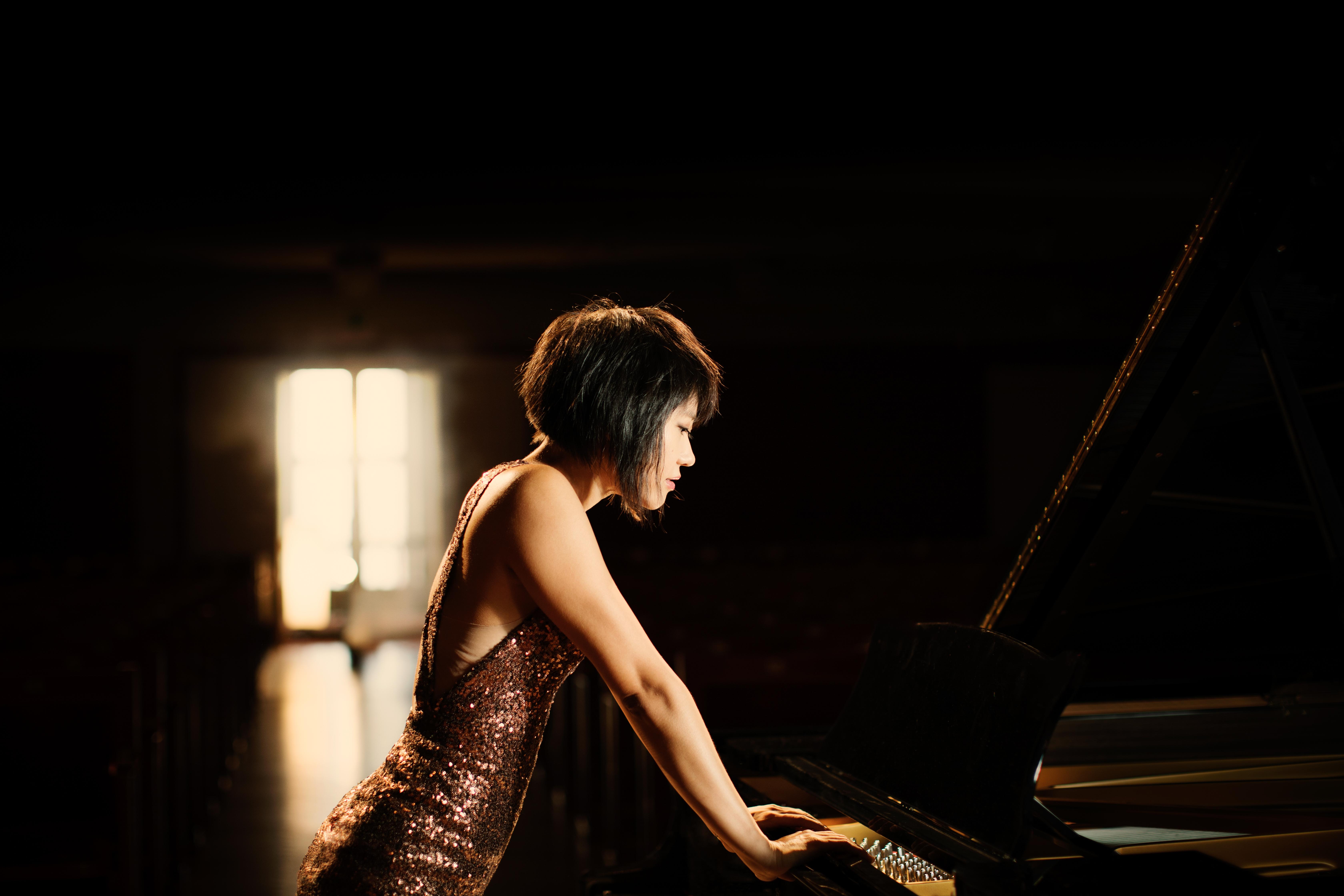 Yuja Wang plays Gretchen am Spinnrade on Israeli TV - YouTube